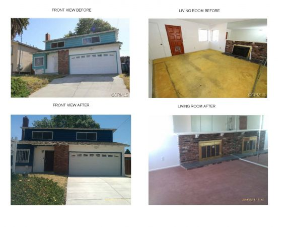 This property was a short sale that was just listed for sale and is currently in escrow.  The profit potential for this property for the investor is upward of $40,000.00.  Not a bad catch for a single property.